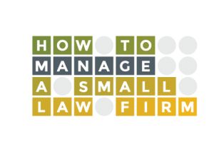 how to manage a small law firm logo