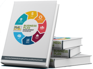 the cover of the business plan development workbook