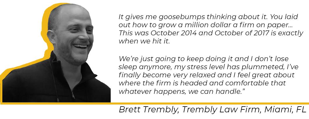 testimonial from member brett trembly