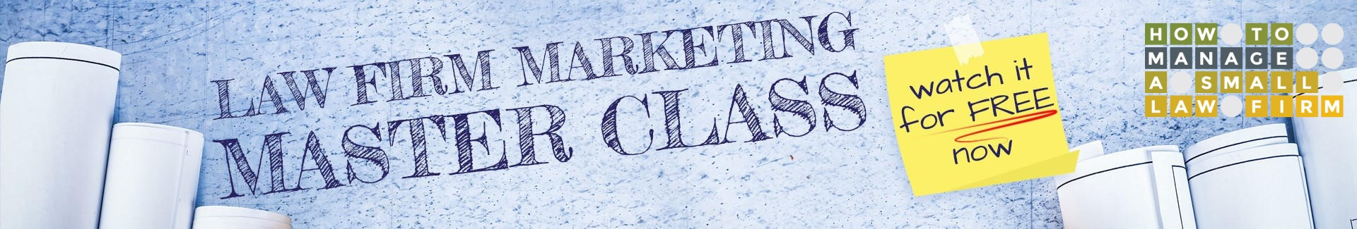 law firm marketing master class: the marketing blueprint workbook and video
