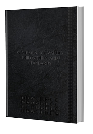 manifesto statement of values cover