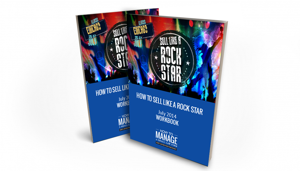 how to sell like a rock star workbook cover image