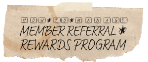 how to manage a small law firm member referral program logo