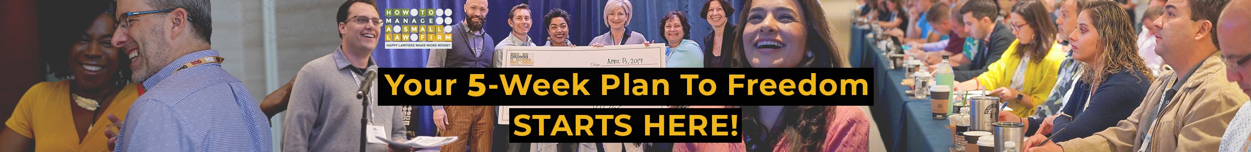 Your 5-week plan to freedom starts here